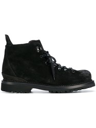 Buttero Lace Up Boots Black