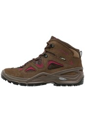 Lowa Bora Gtx Qc Walking Boots Braun Beere Brown