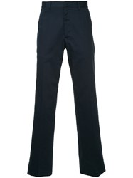 Gieves And Hawkes Tailored Fitted Trousers Blue