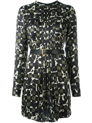 Dsquared2 Camouflage Print Dress Multicolour