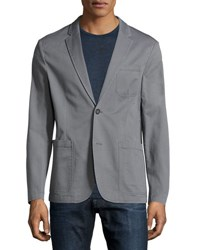Original Penguin Classic Fit Stretch Blazer Gray