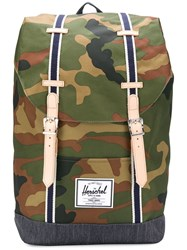 Herschel Supply Co. Retreat Backpack Green