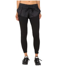 Adidas By Stella Mccartney The Short Over Tights Ax7102 Black Women's Casual Pants
