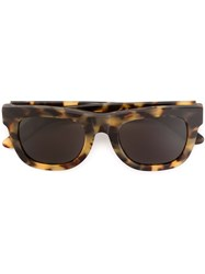 Retrosuperfuture 'Ciccio Cheetah' Sunglasses Brown