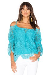 Vava By Joy Han Laia Top Blue