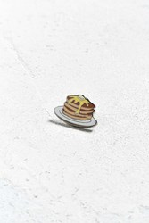 Urban Outfitters Uo Pancake Stack Pin Brown