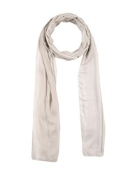 John Varvatos Oblong Scarves Light Grey