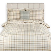 Gant Tupper Check Duvet Cover Seawood King