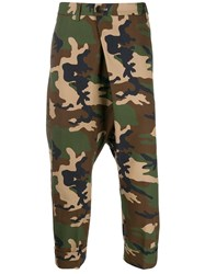 Gabriele Pasini Camouflage Print Trousers 60