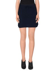 Beayukmui Skirts Mini Skirts Women Dark Blue