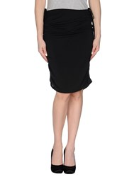 Caractere Skirts 3 4 Length Skirts Women Black