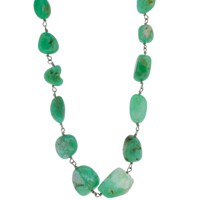 Lori Kaplan Jewelry Chunky Chrysoprase Necklace