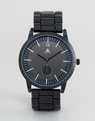 Asos Bracelet Watch In Black Black