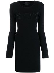Philipp Plein Fitted Knit Dress 60