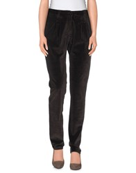 P.A.R.O.S.H. Trousers Casual Trousers Women Dark Brown