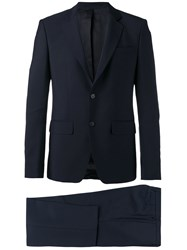 Givenchy Formal Suit Men Cupro Mohair Wool 50 Blue
