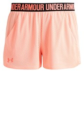 Under Armour Play Up Sports Shorts Playful Peach London Orange