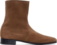 Pierre Hardy Tan Suede Boots