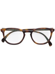 Oliver Peoples Finley Esq Glasses Brown