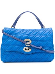 Zanellato Postina Shoulder Bag Blue