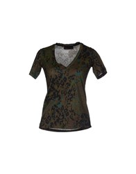 Diesel Black Gold T Shirts Military Green