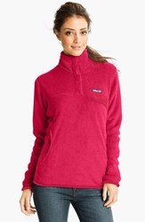 Women's Patagonia 'Re Tool' Snap Pullover Portofino Pink