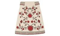 Whistles Delia Embroidery Skirt Multicolour
