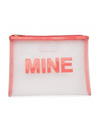 Lolo Bags Stanley Mine Mesh Pouch Medium Pink