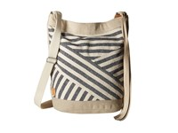 Toms Riviera Stripe Mix Bucket Dark Blue Handbags