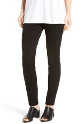 Nydj Women's Stretch 'Jodie' Ponte Leggings Deco Geo Flocking