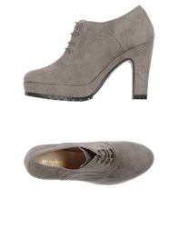 Prima Donna Primadonna Lace Up Shoes Grey