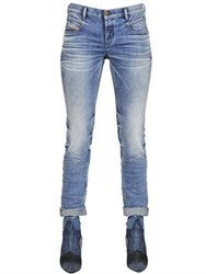 Diesel Belthy Tapered Cotton Denim Jeans