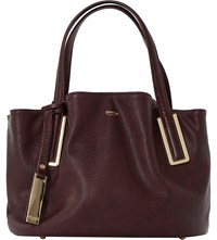 Dune Dolliss Slouchy Bag Berry Plain Synthetic