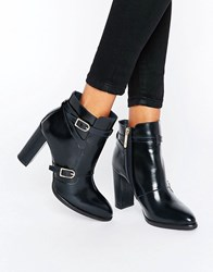 Tommy Hilfiger Tommyxgigi Nautical Heeled Ankle Boots Midnight Black