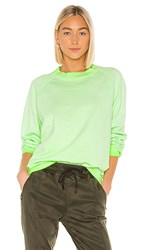 Cotton Citizen The Oslo Shirt In Green. Electric Lime