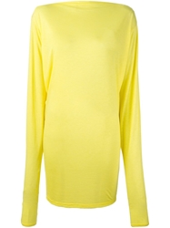Alexandre Vauthier Billowing Sleeve Fitted Dress Yellow And Orange