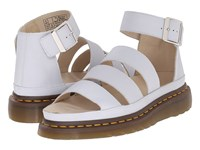 Dr. Martens Clarissa Chunky Strap Sandal Blue Moon Virginia Women's Sandals White