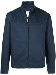 Cerruti 1881 Zipped Jacket Blue