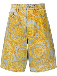 Versace Jeans Couture Chino Shorts Blue