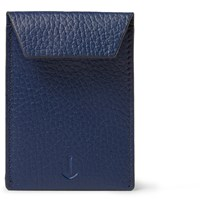 Miansai Envelope Full Grain Leather Cardholder Blue