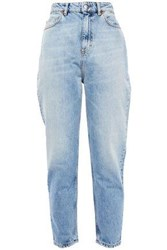 Iro Woman Fair High Rise Slim Leg Jeans Light Denim
