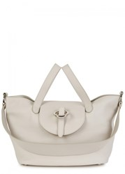 Meli Melo Rose Thela Medium Grey Leather Tote