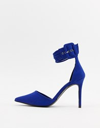 Blink Pointed High Heels Blue