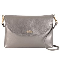 Tula Party Leather Across Body Bag Silver