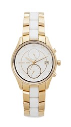 Michael Kors Briar Watch Gold White