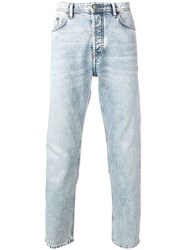 Acne Studios River Marble Wash Jeans Blue