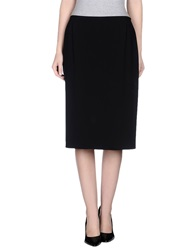 Antonio Fusco 3 4 Length Skirts Black