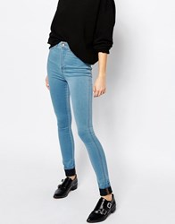 Dr. Denim Dr Denim Solitaire Super High Waist Skinny Blue