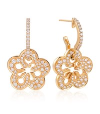 Boodles Blossom Pave Earrings Female