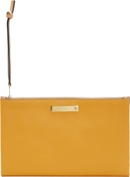 Chloe Gold Leather A5 Document Holder